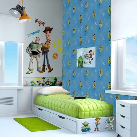 Ideas divertidas para alegrar el cuarto de los niños