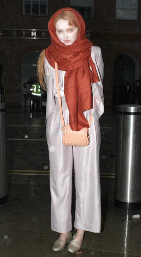 Raro Lily Cole Londres Semana Moda