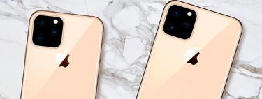Un iPhone XI con tres cámaras traseras en triángulo: cada vez más filtraciones apuntan a este esquema fotográfico