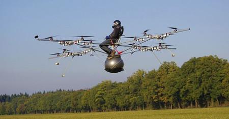 Primera versión del Volocopter