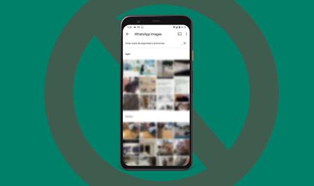 Cómo hacer que las fotos de un chat o grupo de WhatsApp no aparezcan en la galería