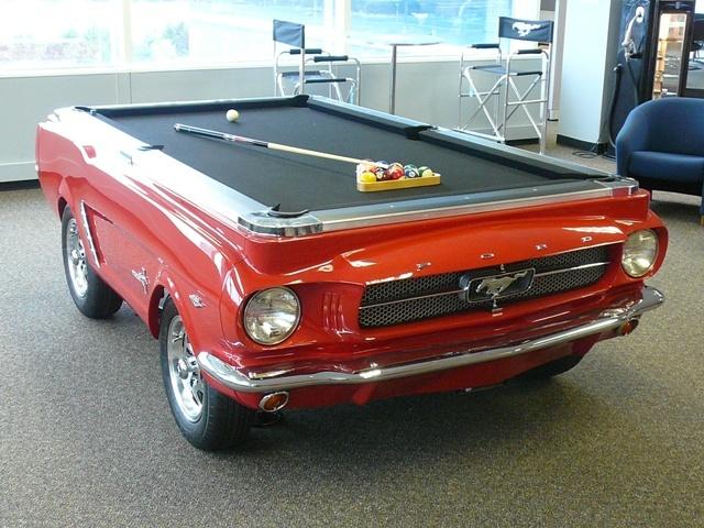 Foto de Mesa de billar Ford Mustang 1965 (7/8)