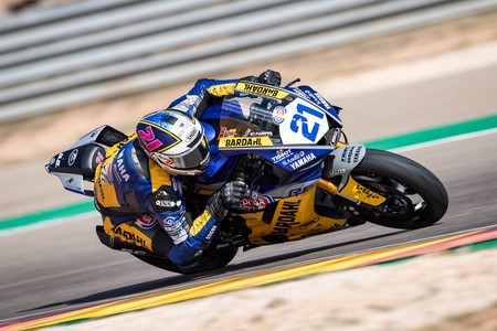 Randy Krummenacher se lleva la victoria en la última curva y sale de MotorLand más líder en Supersport