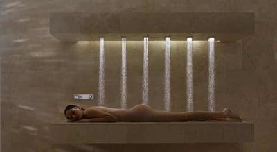 Ya es posible ducharse tumbado