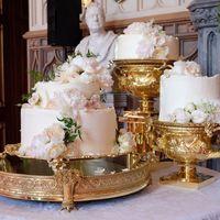 Boda del príncipe Harry y Meghan Markle: así es la tarta que están degustando los invitados