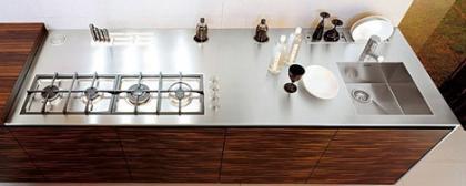 Ebony Kitchen: cocina de lujo de diseño contemporáneo