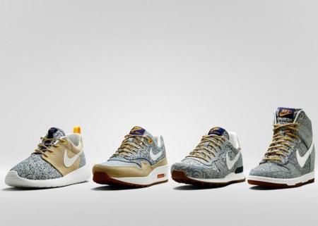 Prints florales para la colaboración de Nike y Liberty London