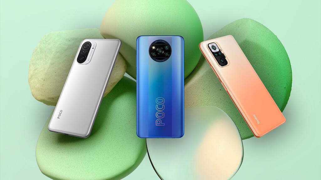 Comparison: how the POCO F3, X3 Pro and the Redmi Note 10 Pro differ