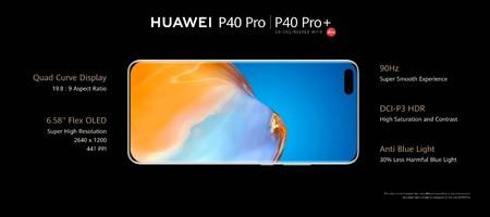 Huawei P40 Pro Plus Pantalla Quad Curve