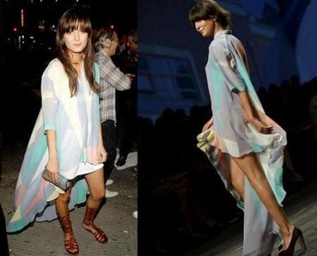 Irina Lazareanu apuesta por la moda catalana en la Semana de la Moda de Nueva York