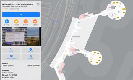 Atención, viajeros: Apple Maps añade información detallada del interior de 34 aeropuertos en iOS 11