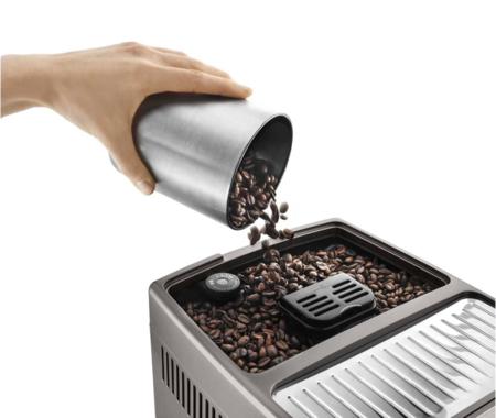 molinillo incorporado en las cafeteras superautomáticas de De'Longhi