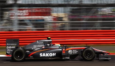 GP de Gran Bretaña 2010: Bruno Senna seguirá siendo el piloto de Hispania tras Silverstone
