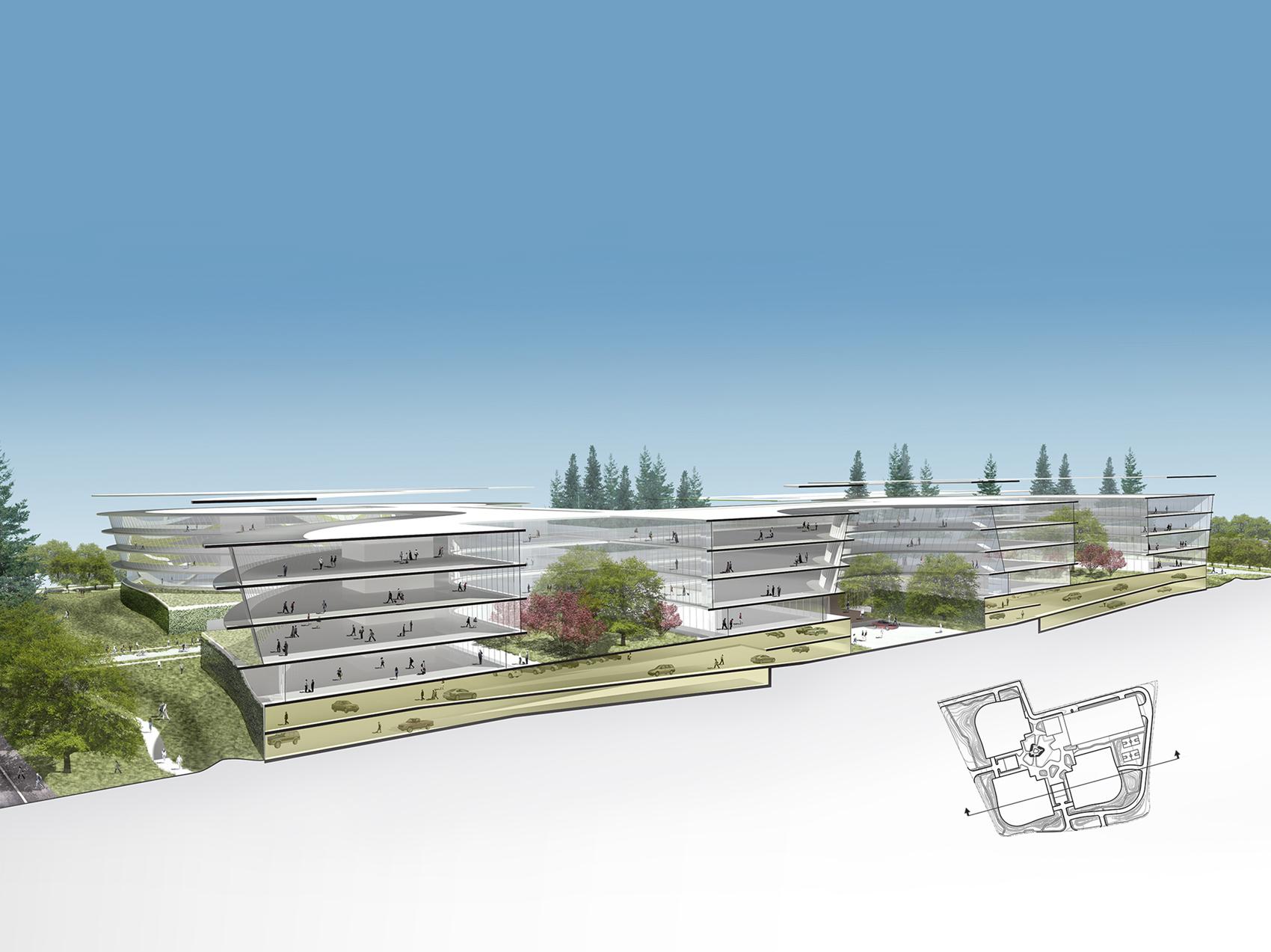 Campus de Apple en Sunnyvale