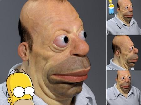 Miguel Vasquez es el creador del Homer más siniestro de la historia y de un Instagram que parece 'La tienda de los horrores'