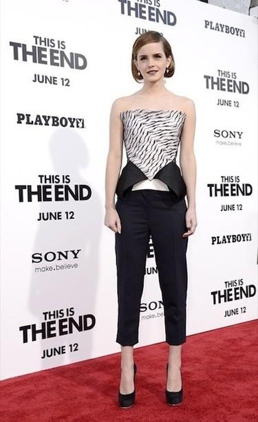 Esto es así: todo el mundo quiere como invitada en sus saraos a Emma Watson