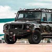 Land Rover Defender clásico en apariencia, pero con motor Tesla: un retrofit de 354 km de autonomía configurado a medida