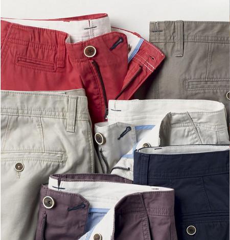 pantalones chinos de colores mango