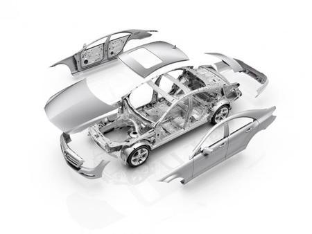 Mercedes en Aluminio