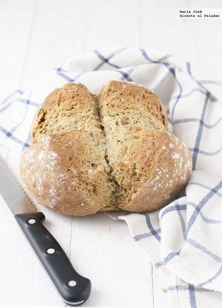 Cómo hacer pan de soda, receta con Thermomix