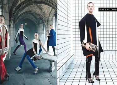 Campaña Otoño-Invierno 2011/2012 Balenciaga: ¡viva la geometría!