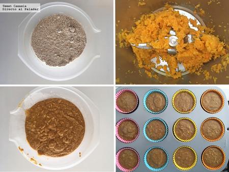 Muffins integrales de Calabaza 2