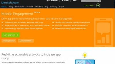 Microsoft lanza la preview Azure Mobile Engagement, una herramienta de analítica para aplicaciones