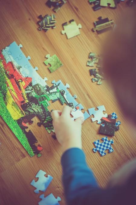 Lo que nos dicen los puzzles o rompecabezas acerca del desarrollo visual y espacial de los niños