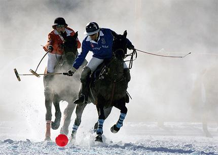 """Polo en la nieve: 24ª edición """"Cartier Polo World Cup on Snow"""""""