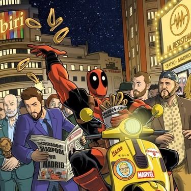 Salva Espín regresa a 'La Resistencia' para presentar un cómic de 'Deadpool meets David Broncano'