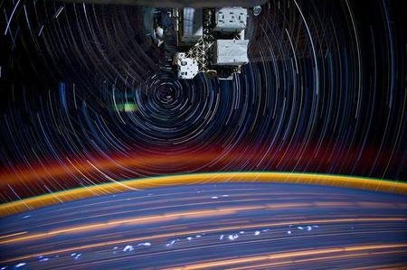 ¿Cómo sería ser fotógrafo en el espacio exterior?