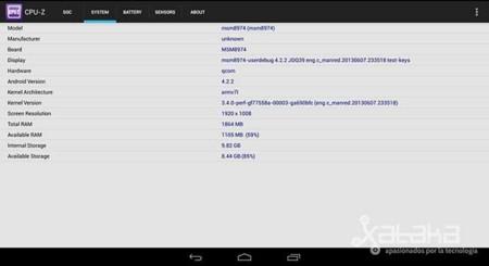 CPU-Z Snapdragon 800