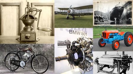 Molinos para café, telares, corcho... Esto fabricaron algunas marcas antes de dedicarse a los autos