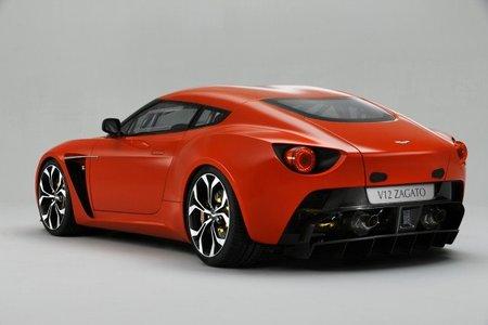 Aston Martin V12 Zagato trasera