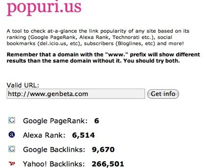 Popuri.us, información sobre un dominio