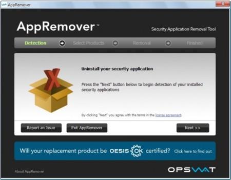 Desinstala tus antivirus y firewalls fácilmente con AppRemover
