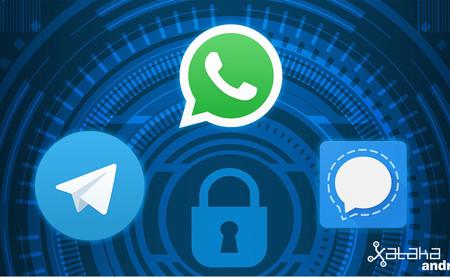 WhatsApp vs Telegram vs Signal, comparativa: ¿cuál es la app de mensajería más segura?