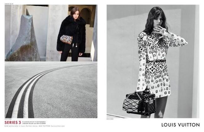 Louis Vuitton Campana Otono Invierno 2015 2016 Juergen Teller Bruce Weber 1
