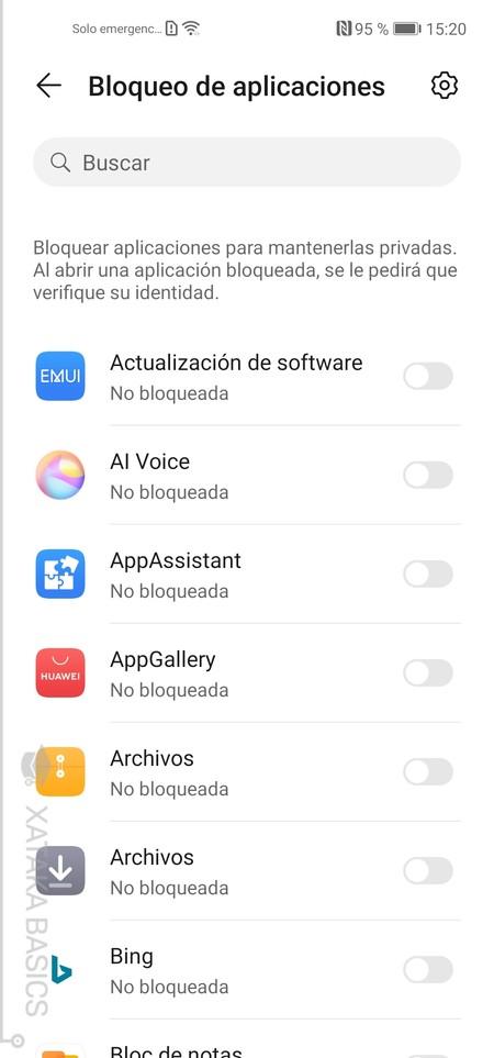 Bloquear Apps