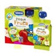 Peque Fruta de Nestlé: pura fruta en un innovador envase