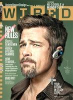 Brad Pitt en la portada de la revista Wired