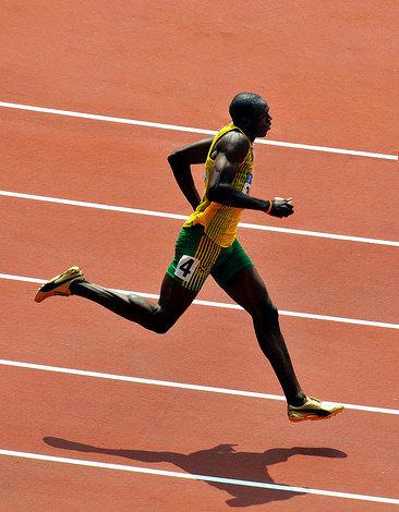¿Cuál es la máxima velocidad de carrera humana?