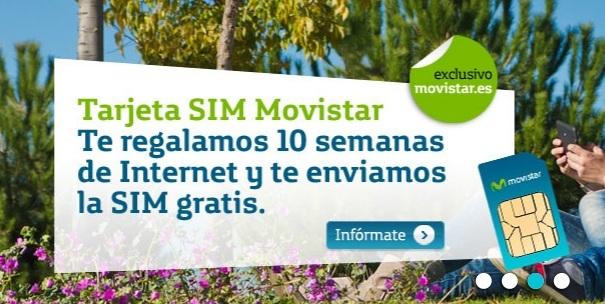 10 semanas de Internet gratis con Movistar