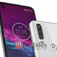 One Action en todo su esplendor: agujero en pantalla y triple cámara para el próximo Android One de Motorola