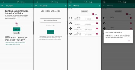 10 digitos app android
