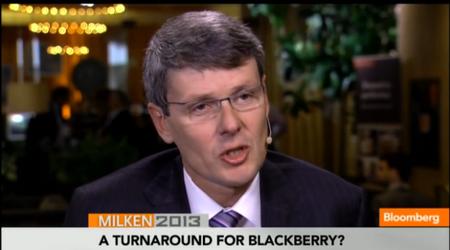 CEO de BlackBerry: Las tablets morirán en 5 años