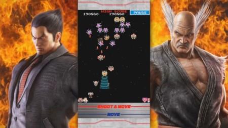 Tekken unido a Galaga no era una broma y ya lo puedes jugar en tu smartphone