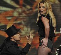 Britney Spears actuó en Factor X