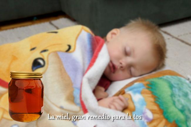 como calmar la tos en niños de dos años
