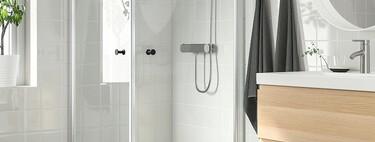 Las mejores novedades de Ikea para el cuarto de baño (incluidas sus nuevas mamparas)